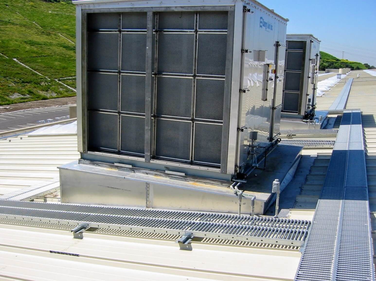 Metal Roof Walkways Gaining Popularity   R&S Manufacturing